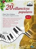 20 Villancicos Populares: Piano, Voz y Guitarra - Vol.2 (Libro/CD) - David Leiva