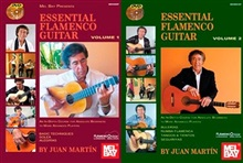 Saving Pack  Essential Flamenco Guitar - Volume 1 & 2 (Book/2 DVDs)- Juan Martín & Patrick Campbell