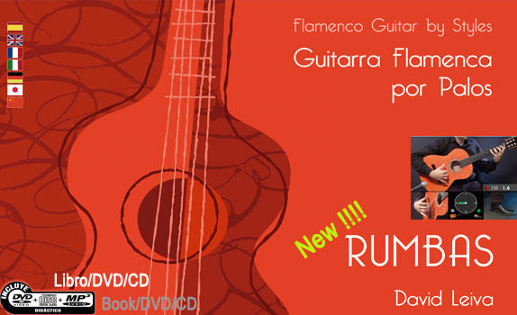 Guitarra Flamenca por Palos- RUMBAS - (DVD/CD/Libro)